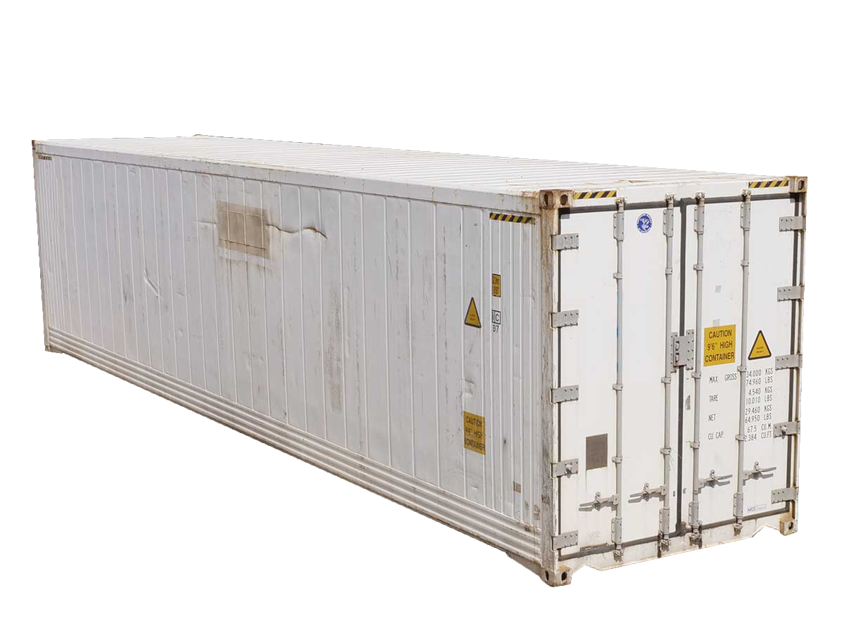 40 foot high-cube refrigerated container