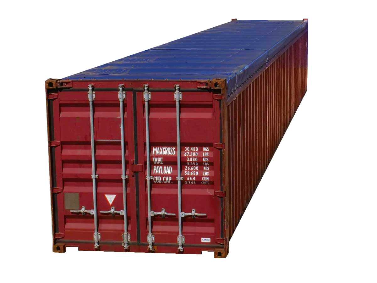 40-Foot Open-Top Shipping Containers for Sale | Interport