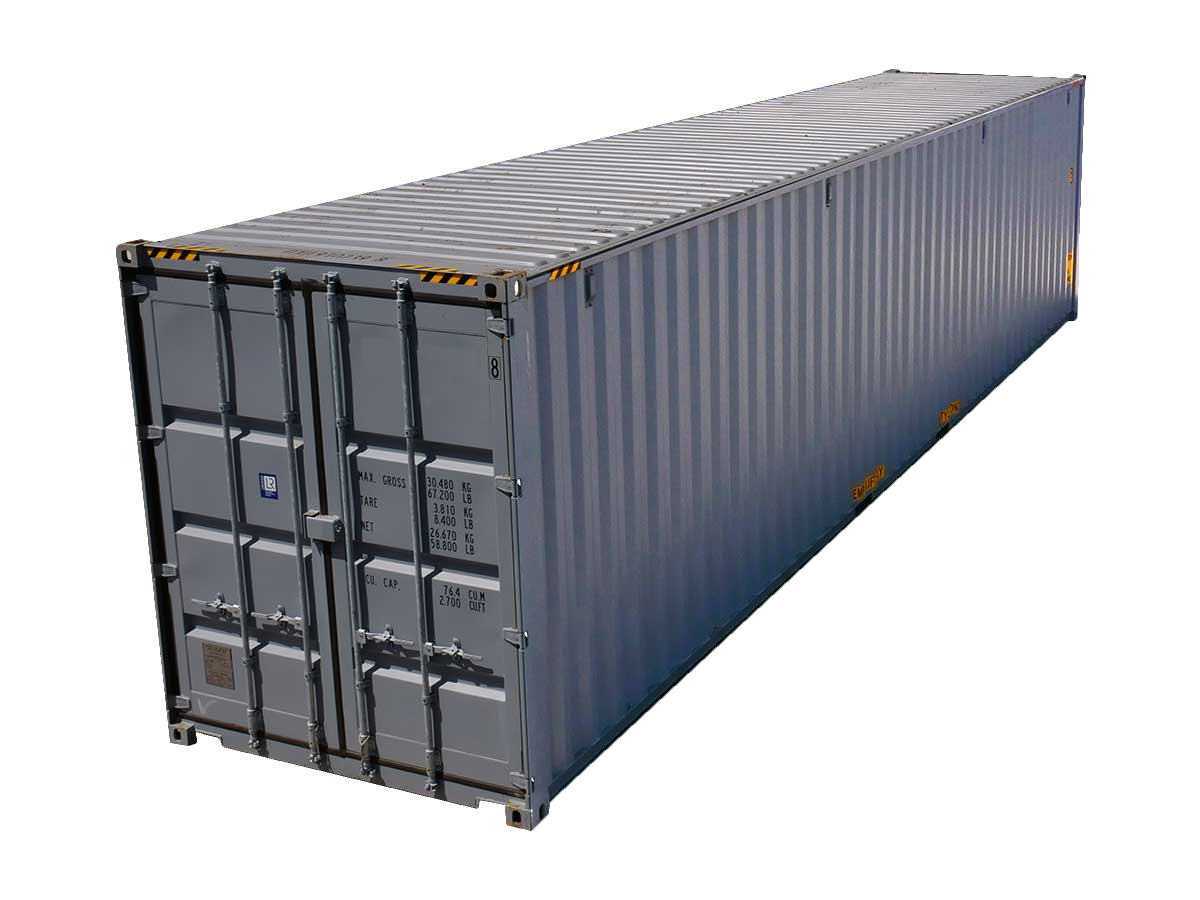 40-Foot High-Cube Shipping Containers for Sale | Interport